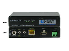 HDMI HDBaseT Transmitter Over Single CAT 5e/6/7 Bi-Directonal IR RS232 SB-6335T