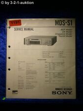 Sony Service Manual MDS S1 (#1191)