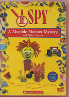 I SPY MUMBLE MONSTER AND OTHER STORIES (DVD, 2003) NEW