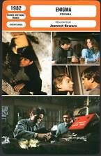 ENIGMA - Sheen,Fossey,Neill,Szwarc (Fiche Cinéma) 1982