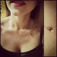 Celebrity Style Tiny Gold Star Necklace/Choker14K Gold-filled Chain, so Petite!
