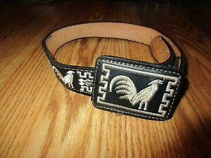 talabarteria leather Child's belt size 22 great condition*