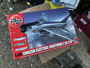 AirFix English EE Lightning F2A/F6 1:48 Model Kit Sealed
