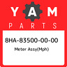 8HA-83500-00-00 Yamaha Meter assy(mph) 8HA835000000, New Genuine OEM Part