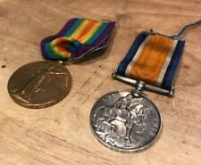 Pair Of First World War Medals - Private Derry