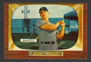 1955 Bowman Mickey Mantle #202 - New York Yankees - EX+