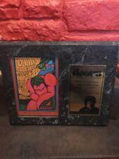 The Doors Procol Harum Original 1967 Concert Handbill on plaque J1