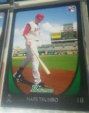 2011 Bowman Mark Trumbo Rookie Card #193