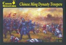Caesar Miniatures - Chinese Ming Dynasty Troopers - 1:72