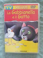 DVD LA GABBIANELLA E IL GATTO ENZO D'ALO' ALLEGATO SORRISI E CANZONI TU