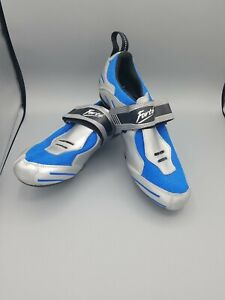 New Forte' cycling triathlon shoes CT100 size 44 10.5 Bicycle