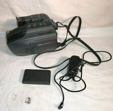 PANASONIC Palmcorder VHS-C Palmsight PV-L501D Battery A/C VIDEO TRANSFER Works