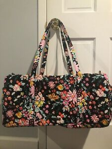 Vera Bradley Weekend Traveler Tangerine Twist Large Duffel / Bag - NWT