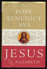 JESUS OF NAZARETH by Joseph Ratzinger Hardcover Book Pope Benedict XVI