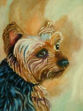 Dog Mixed Breed, Acrylic Painting *Not Computer Generated & Not A Print!*