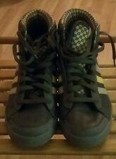 Baskets Adidas Adria cuir mauve 41 1/3