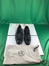 hermes mens shoes black SZ 43