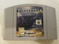 Forsaken 64 - Nintendo 64 N64 Game Tested + Working & Authentic! CARTRIDGE ONLY