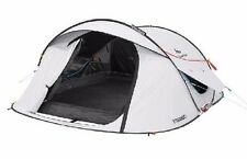 Quechua 3 Man Pop Up Camping Tent Dark Room Waterproof Camping Hiking Festival