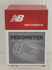 New Balance NB Pedometer Slim 3D Step Counter Belt Clipon Fitness Tracker