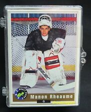 1992 CLASSIC NHL Draft Picks Hockey Set, MANON RHEAUME First Card