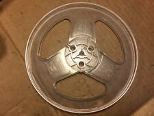 """Vintage 7-Inch Take-Up Reel Empty reel-to-reel Clear Plastic 1/4"""" (Qty Available"""