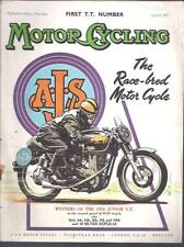 MotorCycling Magazine 9th June 1955 First TT Issue BSA Triumph Norton Motorcycle