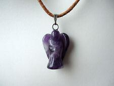 Echte Edelstein-Halsketten & -Anhänger mit Amethyst und Bewusstsein für Damen