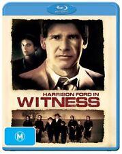 *New & Sealed*  Witness (Blu-ray, 2014) Region B Australian. Harrison Ford Movie