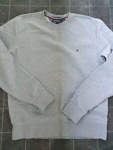 Tommy Hilfiger Vintage Fit Pullover Gr. XL Hellgrau