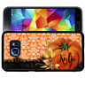 Personalized Case Fits Samsung Galaxy S10 S9 S8 S7 Plus Pumpkin Fall Lace