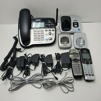 Uniden DECT6.0 Digital Phone Answering System 1 Corded 2 Cordless Extra Base