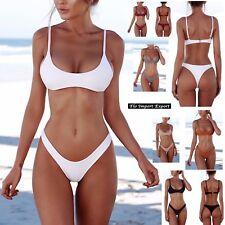 Costume da Bagno Due Pezzi Bikini Mare Donna Brasiliano Woman Swimsuit 550037
