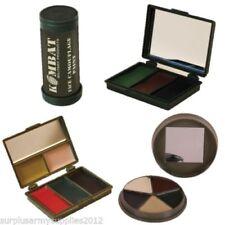 Maquillajes para disfraces, militares