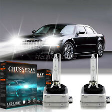 Front HID Headlight Bulb FIT For Chrysler 300 2011-2018High&Low Beam 6000K WHITE