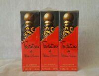 TENTATIONS paloma picasso eau de parfum 3× 30ml = 90ml spray,
