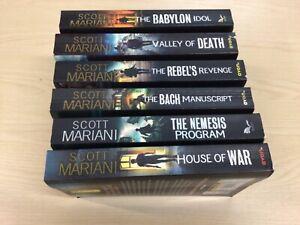 "Scott Mariani, : "" Ben Hope"" bundle paperback x  6 - House of War, Nemesis Prog."