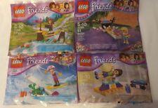 Lego Friends: Olivia(Bridge) Stephanie(Bowling) Naomi(Gymnastics) Stephanie(Ski