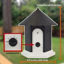 Puppy Dog Outdoor Ultrasonic Anti Barking Control Birdhouse Nuisance Stop Bark H
