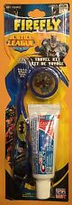 Batman Child's Toothbrush Travel Kit New Crest Toothpaste + Cap Blue