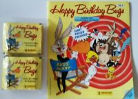 LOONEY TUNES HAPPY BIRTHDAY BUGS 1990 PANINI (1) ALBUM (50) PACKS