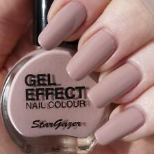 Stargazer GEL Effect Nail Polish Extra Glossy Finish MINK - Nude