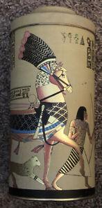 Egyptian Design Tin Vintage For The Gidumal Orgaization