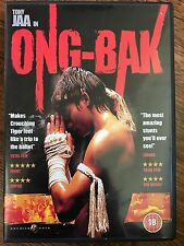 Tony Jaa ONG BAK ~ 2003 Thai Martial Arts Film Classic 2-Disc Spec Ed UK DVD