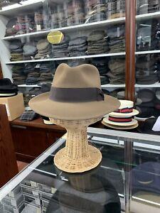 Stetson Ashland Men's Fur Felt Hat Made In USA Size 7 1/2