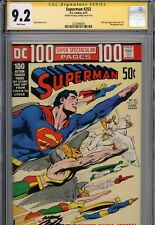 Superman #252 CGC 9.2   100 Page Super S.   Signature Series Neal Adams 1972 SS