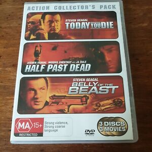 Today You Die + Half Past Dead + Belly of the Beast Triple R4 Like New!