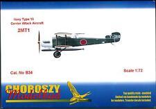 Choroszy Models 1/72 Japanese NAVY TYPE 13 2MT1 Carrier Attack Bomber