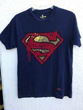 Six Flags Magic Mountain Superman Navy T-Shirt SIZE Small