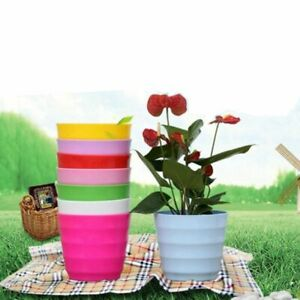 Decor Office Balcony Flower Pots Succulent Flowerpot Plants Basket Planters